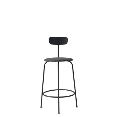 Afteroom 25.5 Bar Stool Upholstery: Black