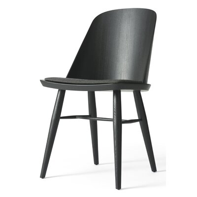 Synnes Side Chair Finish: Black Ash