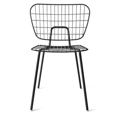 WM Side Chair Finish: Black