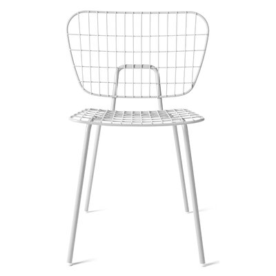 WM Side Chair Finish: White