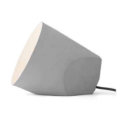 1-Light Mini Pendant Finish: Light Gray