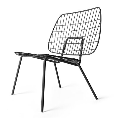WM Lounge Chair Finish: Black