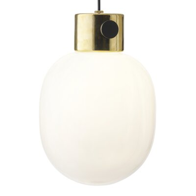 Pendant 1-Light Globe Pendant Finish: Mirror Polished Brass