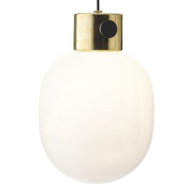 Pendant 1-Light Globe Pendant Finish: Mirror Polished Brass