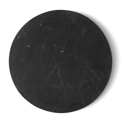 Wire Marble Top Color: Black