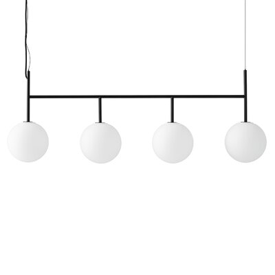 TR Bulb Suspension Frame 4-Light LED Kitchen Island Pendant