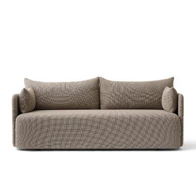 Offset Standard Sofa Size: 23.6 H x 68.8 W x 35.4 D`