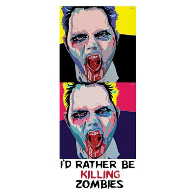 Kreloff Zombie 2 Up Wall Decal