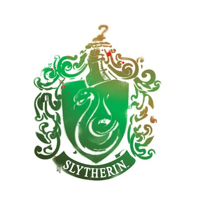 Harry Potter 7 Slytherin Crest Wall Decal