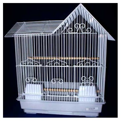 Villa Top Bird Cage Color: White