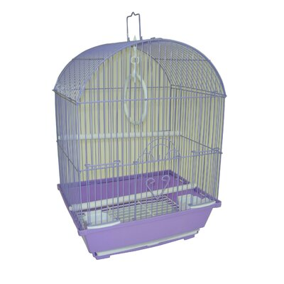 Top Cage With Food Access Door Color: Purple