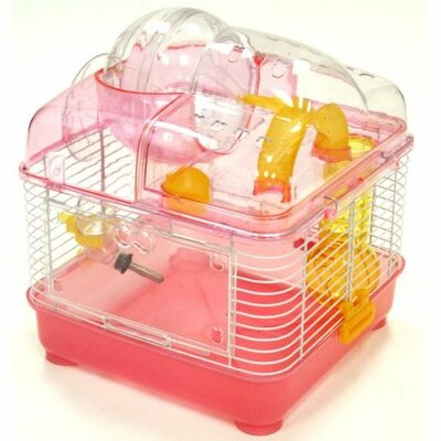 Small Animal Modular Habitat Color: Pink
