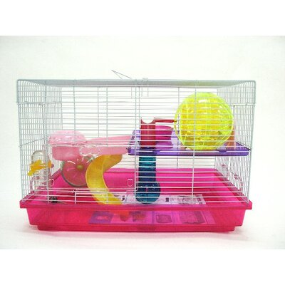 Iggy Small Animal Modular Habitat Color: Pink