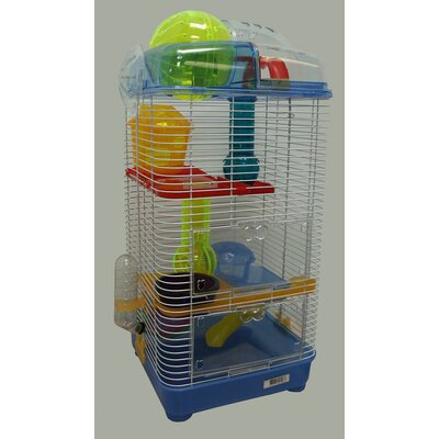 3-Level Mouse Modular Habitat Color: Blue