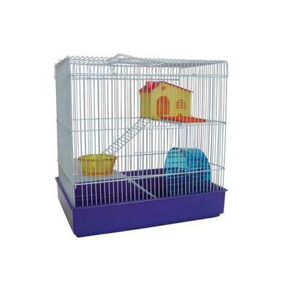3-Level Small Animal Modular Habitat Color: Blue