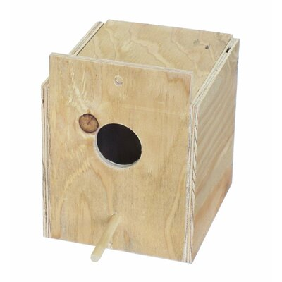 Wooden Nest Box Size: 8.5 H x 7 W x 8 D
