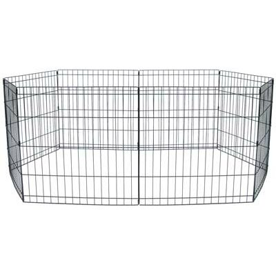 Omar Exercise Pet Pen Size: Medium (30 H x 24 D)