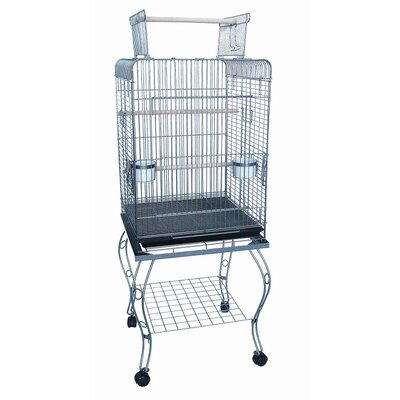 Play Top Parrot Bird Cage with Stand 0224AS