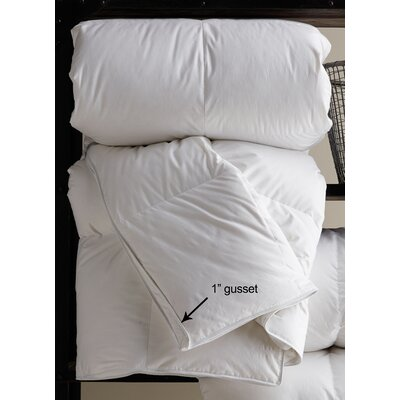Classic Polyester Filled Winter Weight Duvet Insert Size: King