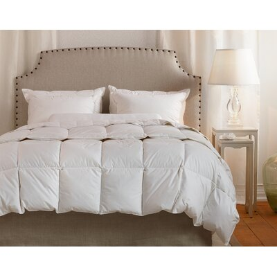 Organic Cotton Down Filled Fall Weight Duvet Insert Size: Twin