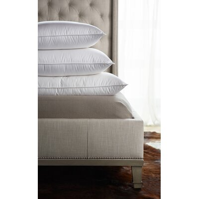 Soft Sleeping 360 Thread Count Filled Down Alternative Pillow Size: Queen