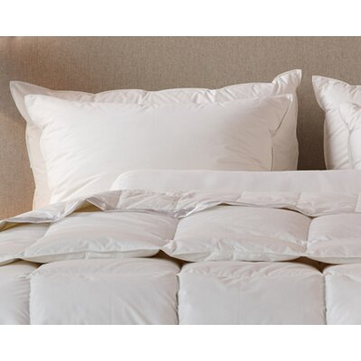 Cotton Tri-Compartmented Sleeping Feathers Pillow Size: Queen
