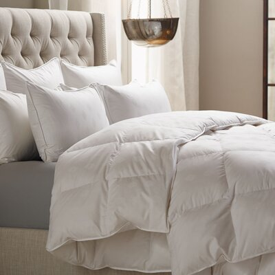 Kingsley Midweight Down Alternative Duvet Insert Size: King