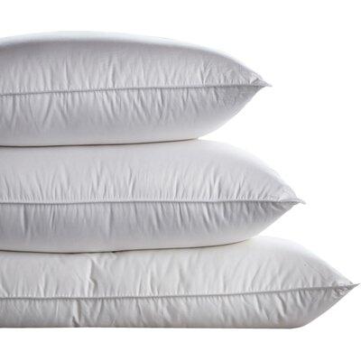 Tri Compartmented Medium-Firm Sleeping Down Pillow Size: Euro
