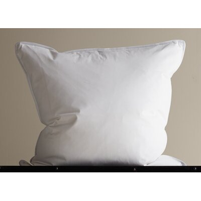 Firm Sleeping 360 Thread Count Filled Down Alternative Pillow Size: Euro