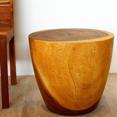 Seliga Oval Drum End Table
