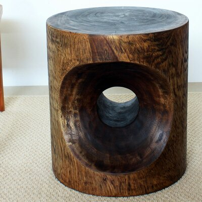 Peephole End Table