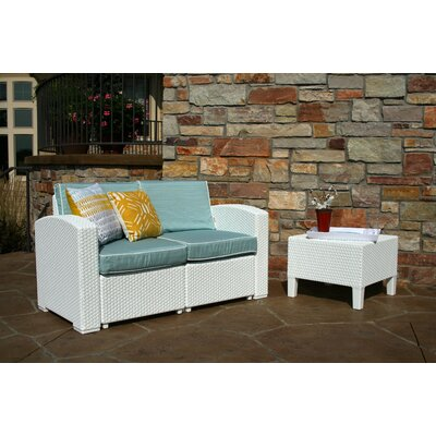Cielo Patio 3 Piece Deep Seating Group with Cushion