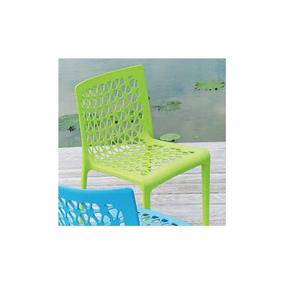 Strata Furniture Milan Stacking Patio Dining Chair (Set of 2)