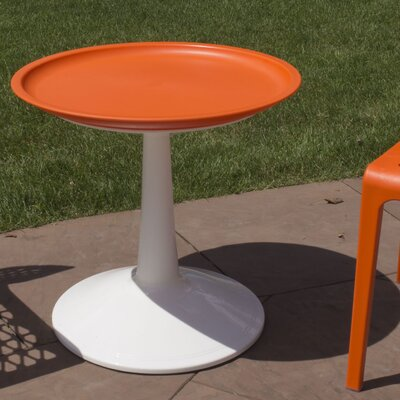 Glocester Bistro Table Top Color: Orange