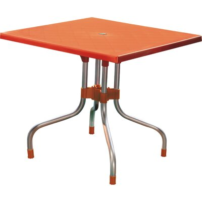 Rockwell Dining Table Color: Orange