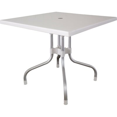 Rockwell Dining Table Color: White