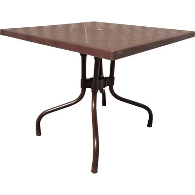 Rockwell Dining Table Color: Brown