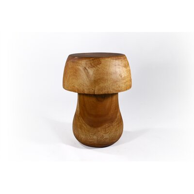 "In store financing Mushroom End Table Size: 23"" H..."