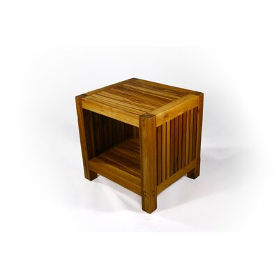 Pedrick Slat End Table