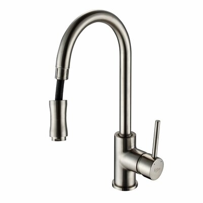 29.75 x 20.75 Farmhouse Kitchen Sink with Faucet and Soap Dispenser Faucet Finish: Satin Nickel