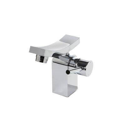Unicus Single Hole Single Handle Bathroom Faucet with Drain Assembly Finish: Chrome
