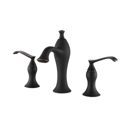 Exquisite Widespread Double Handle Bathroom Faucet Finish: Oil Rubbed Bronze