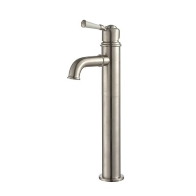 Exquisite Solinder Single Hole Single Handle Bathroom Faucet Finish: Brushed Nickel