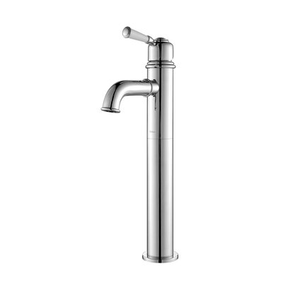 Exquisite Solinder Single Hole Single Handle Bathroom Faucet Finish: Chrome