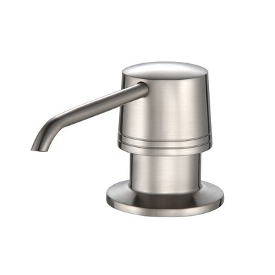 35.9 x 20.8 Farmhouse Kitchen Sink with Faucet and Soap Dispenser Faucet Finish: Stainless Steel