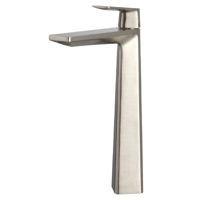 Single Hole Single Handle Bathroom Faucet Finish: Brushed Nickel