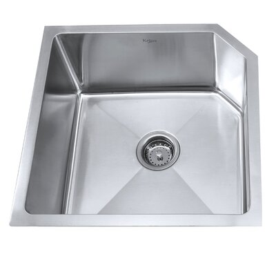 23 x 18.75 Undermount  Kitchen Sink with NoiseDefend Soundproofing