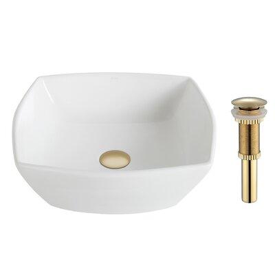 Elavo Square Vessel Bathroom Sink