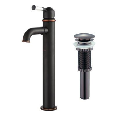 Single Hole Single Handle Bathroom Faucet Finish: Oil Rubbed Bronze