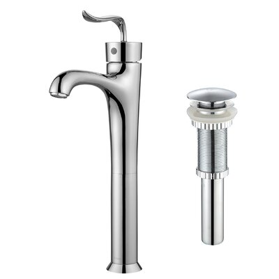 Coda� Single Hole Single Handle Bathroom Faucet with Pop-Up Drain Finish: Chrome